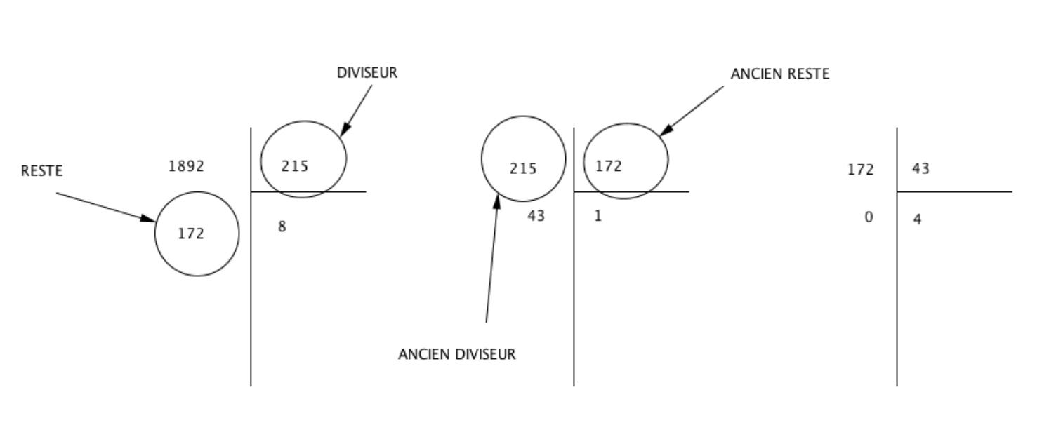 algorithme euclide