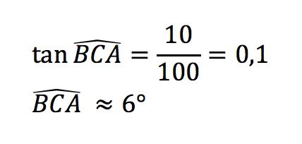 calcul de tangente