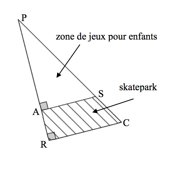 Triangles (3) - exercices corrigés 6ème