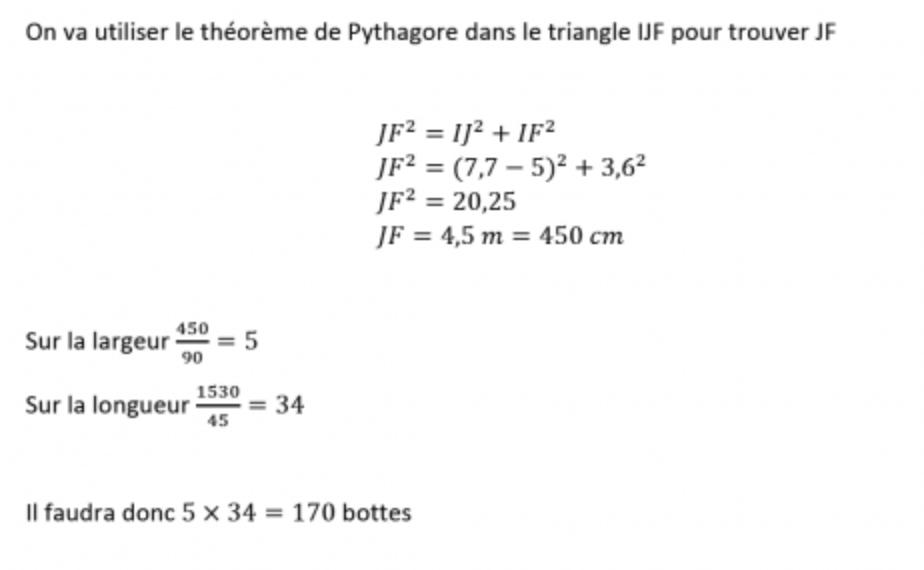 Hervorragend Corrigé exercice 7 – brevet maths 2014 par un professeur PB59