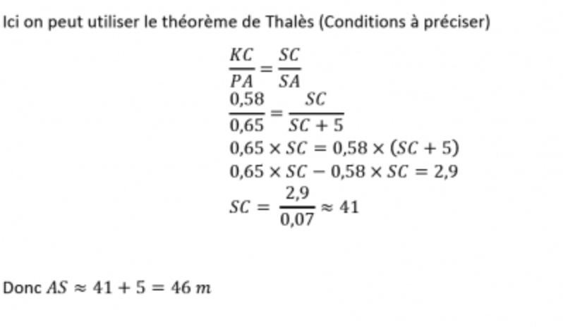 Corrige Exercice 6 Brevet Maths 2014 Par Un Professeur