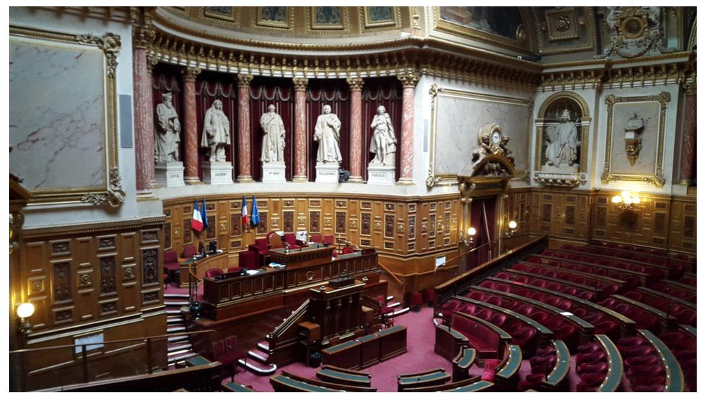"""Le """"plateau"""" au Sénat"""